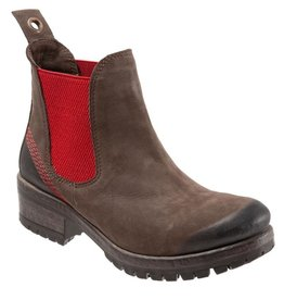 Florida Boot Brown Nubuck Red