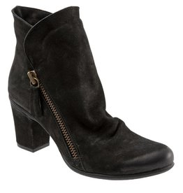 Yountville Slouchy Boot Black Nubuck