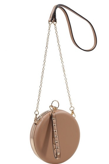 Round Messenger Bag