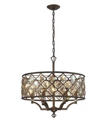 Armand Pendant 6 Light 24""
