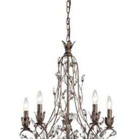 Lilliana 5 Light Chandelier 26""
