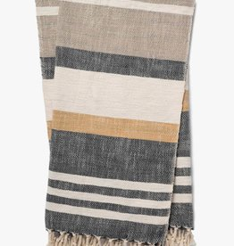 May Striped Throw 50 x 60