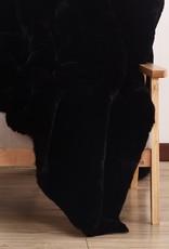"Chinchilla Faux Fur Throw 50 x 60"""
