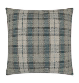 Leary Pillow - Teal 24 x 24