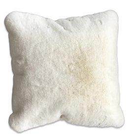 Chinchilla Faux Fur Pillow - 20 x 20