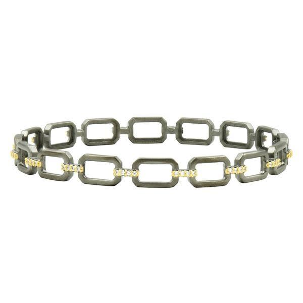 Freida Rothman Chain Link Slide Bangle