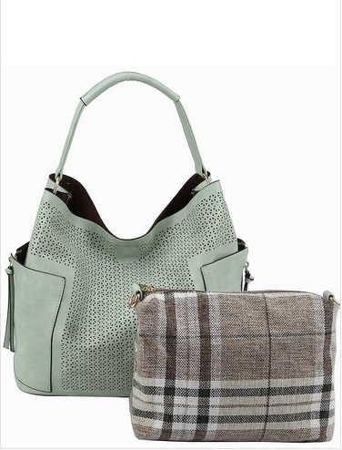 Perforated 2 in 1 Bucket Bag