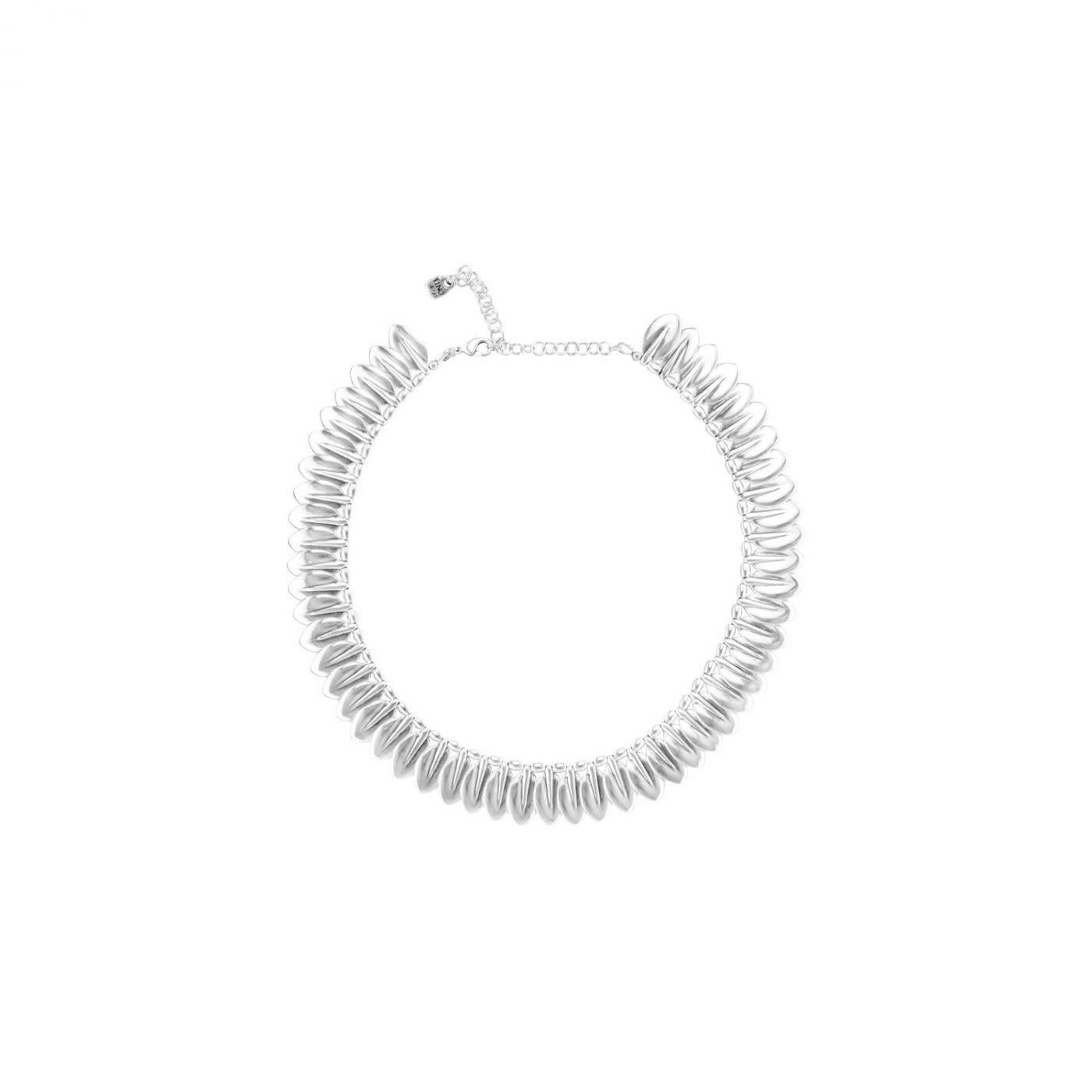 Uno de 50 Leaves Necklace Silver