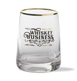 Whiskey Business Glass