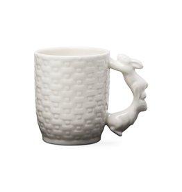 Bunny Basket Weave Mug