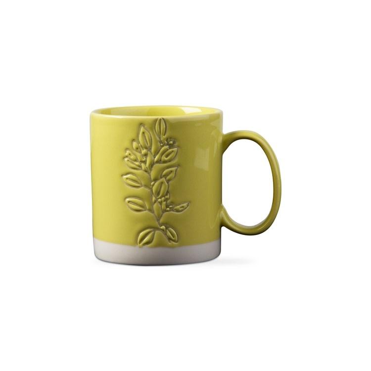 Eucalyptus Wax Resist Mug