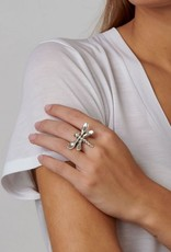 Uno de 50 My Dragonfly Ring Silver