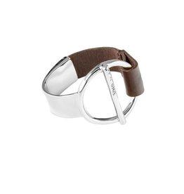 Uno de 50 Switch On Bracelet Silver