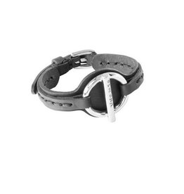 Uno de 50 Plug On Bracelet Black