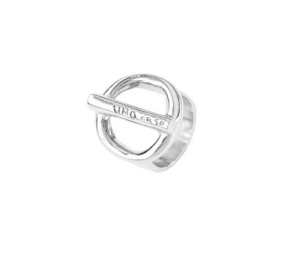 Uno de 50 On / Off Ring Silver