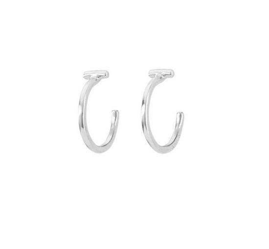 Uno de 50 It's Electrifying Earrings Silver