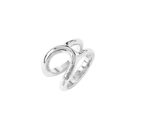 Uno de 50 Shortcut Ring Silver