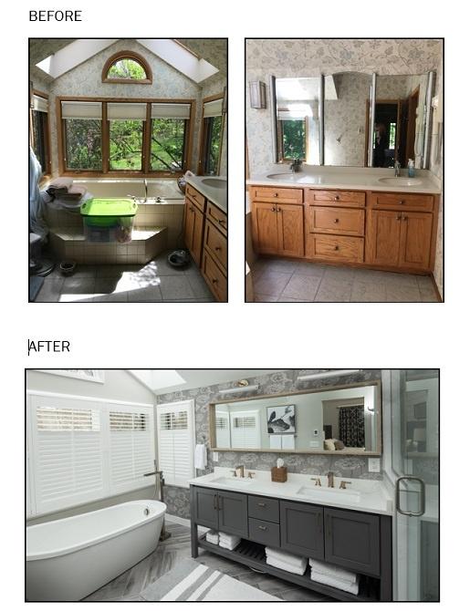 Modern Farmhouse Bath Reno