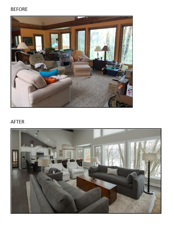 Modern Farmhouse Reno - Living Room