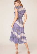 All Mixed Up Dress Steel Lavender