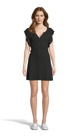 Like a Dream Knit Dress Black