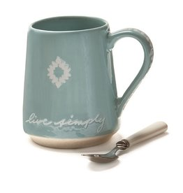 Live Simply Decorative Mug
