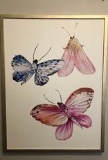 Whimsical Moths 3 - 30 x 40