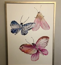 Whimsical Moths 3 - 30 x 40