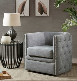 Capstone Swivel Chair - Slate