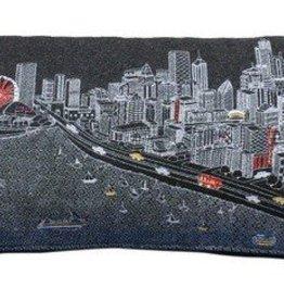 Chicago Wool Lumbar Pillow Night -Queen