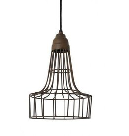 Babette Hanging Lamp - Old Rust