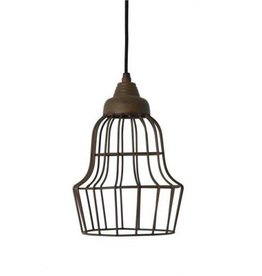 Birke Hanging Lamp - Old Rust
