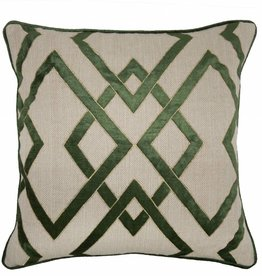 Ananzi Dark Olive Pillow