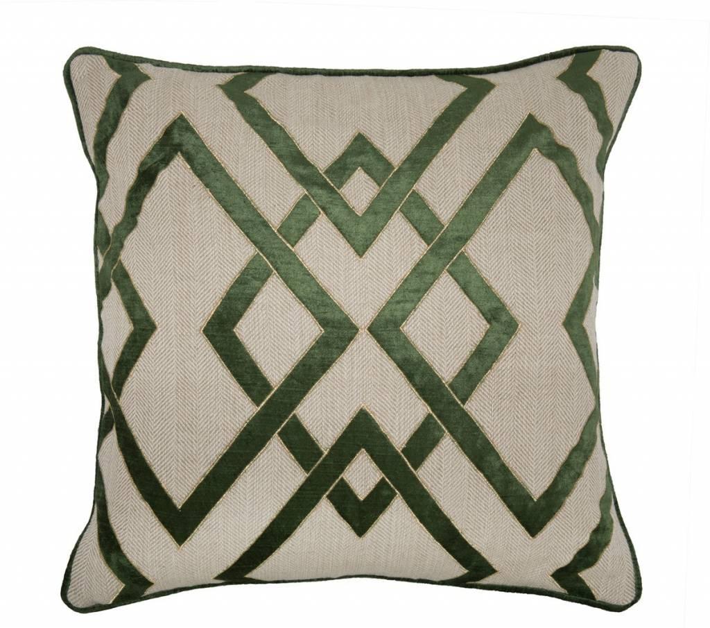 Ananzi Dark Olive Pillow