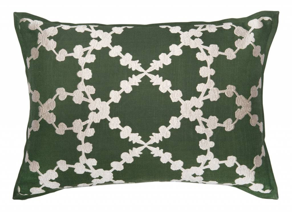 Elda Dark Olive Pillow