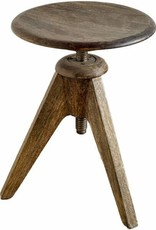 Brock Wooden Stool