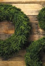 """Cypress Wreath 23.5"""""""