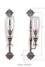 Nuri Industrial Chic Swing Arm Sconce (Each)