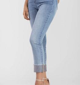 Tribal Audrey 5 Pocket Ankle Skinny Jewel Blue