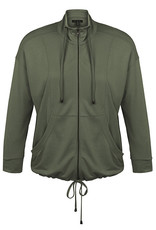 Tribal 3/4 Sleeve  Front Zip Jacket