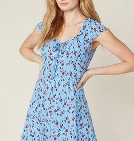 La Femme Dress Morning Blue