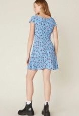 La Femme Dress Morning Blue