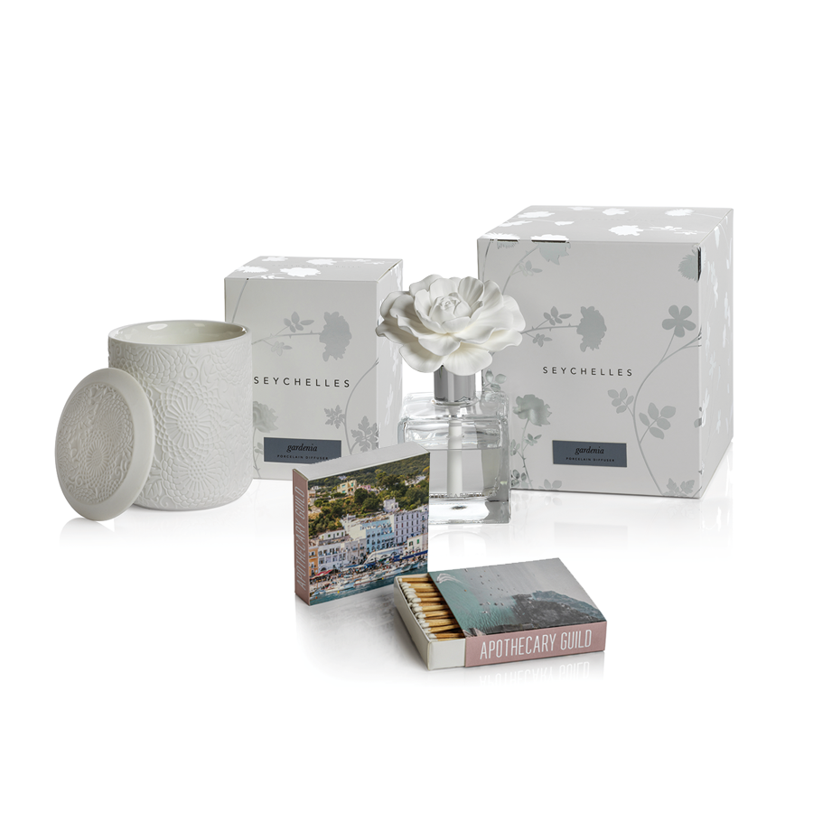 Apothecary Guild Seychelles Gift Set - Gardenia:  Almalfi Coast