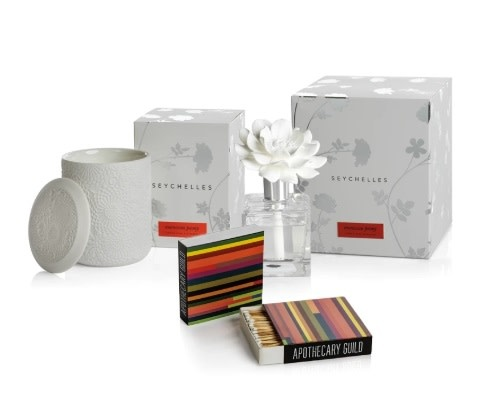 Apothecary Guild Seychelles Gift Set - Moroccon Peony:  Modern Color