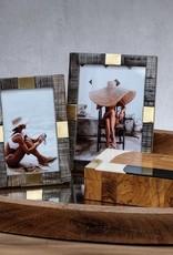 Lagos Abstract Inlaid Mango & Sheesham Wood Box