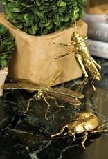 Decorative Gold Insect - Grasshopper
