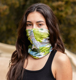 Neck Scarf Watercolor Lime