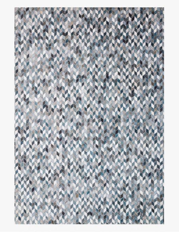 Maddox Rug Ocean/Grey