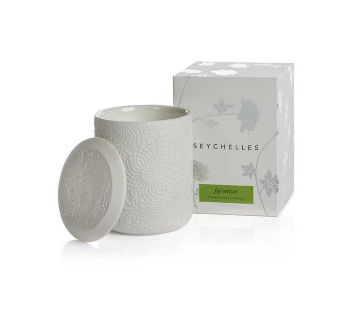 Seychelles Fragranced Candle - Fig Vetiver