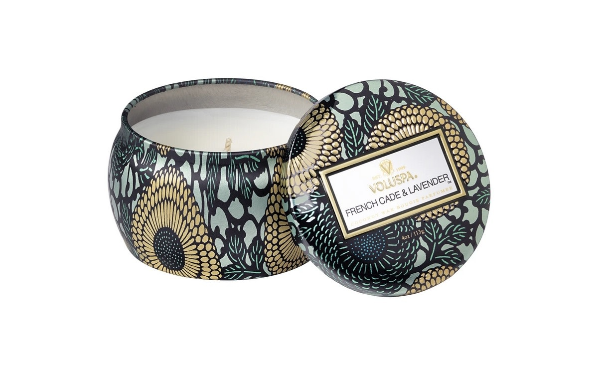 French Cade Lavender Mini Tin Candle
